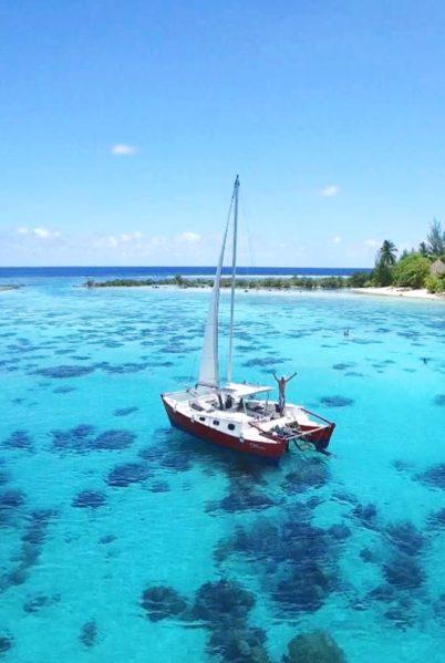 Lagon et faune sous-marine